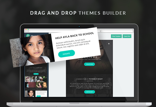 Charity: Nonprofit/NGO/Fundraising Email Template