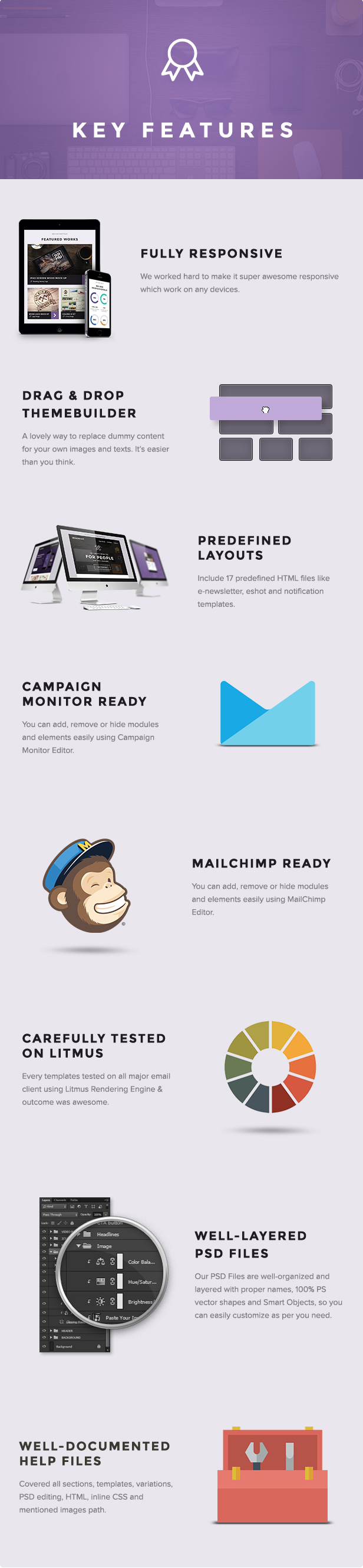 Imaginary - Multipurpose Creative Email Template + Builder Access