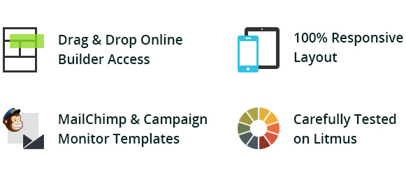 E-Marketing Template + Online Builder Access